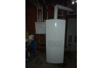Gasbrennwertheizung mit Warmwasserbereitung